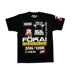 FOKAI Tシャツ FT2012-002(BK)のイメージ