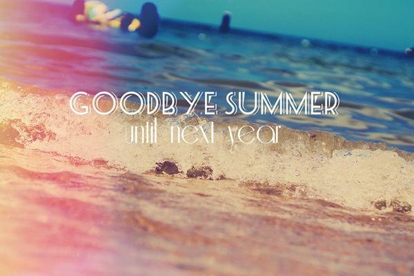 ○○の秋 good bye summer